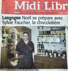 Article de presse dans le Midi Libre
