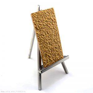 Blanc & Caramel : Tablette aux céréales