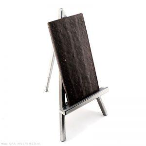 Noir : Tablette chocolat pétillant