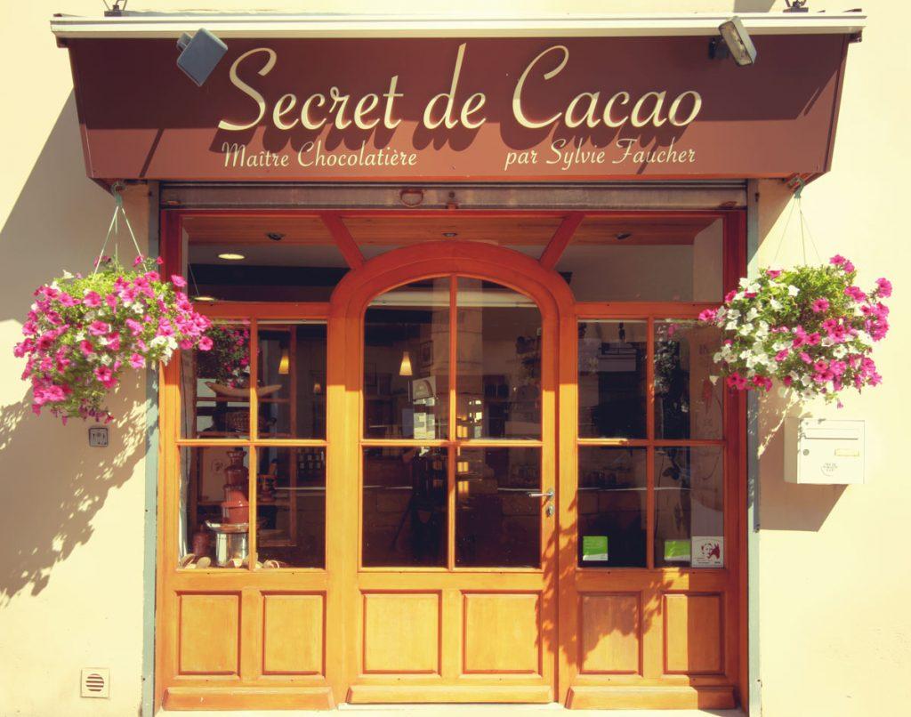 Secrets de cacao contact